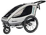 Qeridoo Sportrex 1 Deluxe Kinderanhänger 2018,...