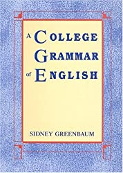 A College Grammar of English (Longman English and Humanities Series)