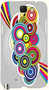 Prominent multicolor printed protective REBEL mobile back cover for Samsung Galaxy Note II N7100 D.No.N-T-2628-N2