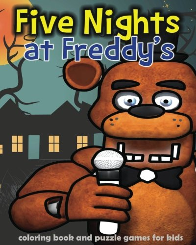 Five Nights at Freddy's: coloring book and puzzle games for kids: coloring, activities book, kids book, games, puzzle por bbg game