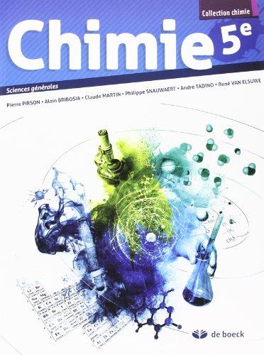 Chimie 5e - 2 Periodes Chimie/Semaine - Sciences Générales