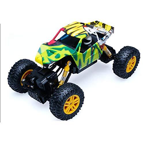 Qiulv 1/18 scala rc auto camion 2.4 g radio controllo fuori strada buggy impermeabile crawler mostro camion 4wd guida motori unità remoto modello veicolo per bambini adulti hobby regalo