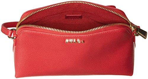 850742EEK08AM1RUBY Furla Sac à bandoulière Femme Cuir Rouge Rouge