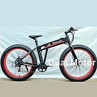 GG TD29Z Double Drive Puissant 26 Pouces Vélo Électrique, 250 W Moteur Brushless, Vélo Fat Fat Caché, Vélo en Alliage D'aluminium Cadre E