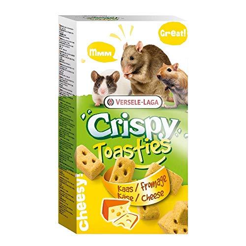 Versele-Laga Crispy Toasties Kleintier Snacks (150g) (Käse) - String-käse