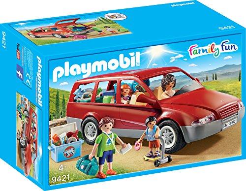 PLAYMOBIL Family Fun 9421 Familien-PKW, Ab 4 Jahren