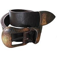 Exclusiver Leder Gürtel Western NEV38 schwarz, braun oder cognac Damengürtel Herrengürtel Westerngürtel Ledergürtel Unisex