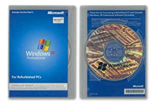 Windows XP Professional SP3 MAR Refurbished Englisch