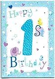 Kinder Geburtstag Karte für eine (1) Jahr), Old Boy–Kostenloser 1st Class Post (UK)