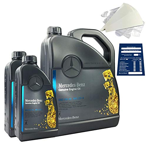 Mercedes-Benz Original Motorenöl SET 5W-40 MB 229.5 7 Liter