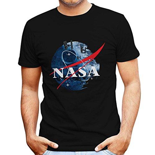TeeTrumpet NASA Death Star Logo Star Wars Men's T-Shirt