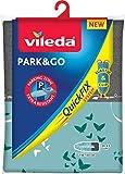 Vileda Park&Go Copriasse da Stiro Universale, in Cotone, con Strato Interno in Spugna, Colori Assortiti, 130 x 45 cm