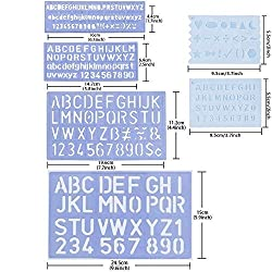 Alphabet stencils | Hardware-Store co uk/