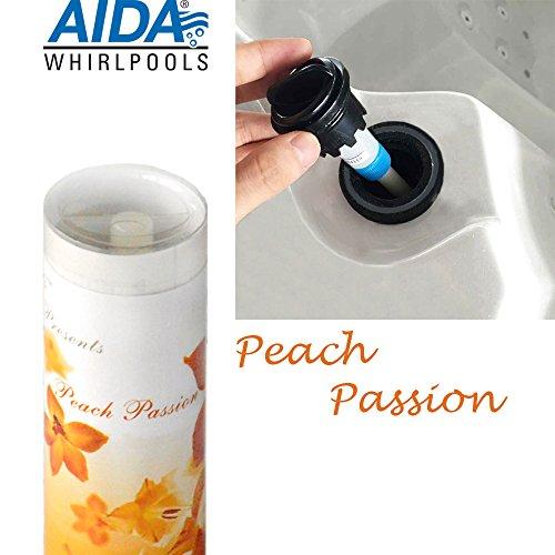 """""""Peach Passion"""" Pfirsich Aroma, Duft, Dufteinsatz Stick für Aromatherapie, für Outdoor Whirlpool, Jacuzzi, Spa"""