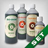 Biobizz Grow Dünger Grow Set - Topmax, BioGrow, BioBloom, RootJuice...