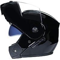 LucaSng Casco integrale Casco Moto Integrale Doppia Visiera Caschi Modulare Donna Uomo Caschi Apribili Leggero…