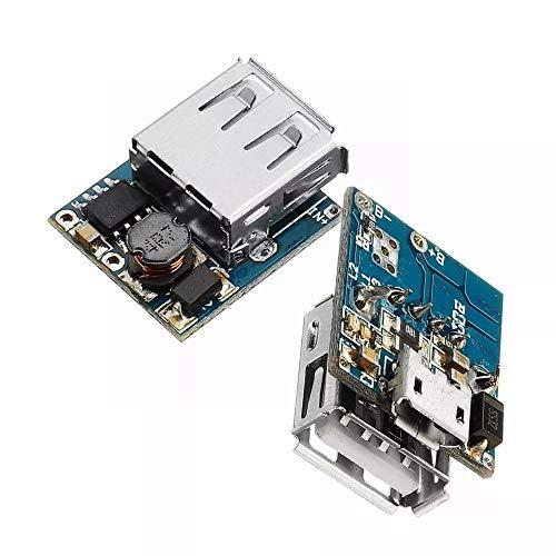 Auto-installazione Combinazione 2pcs 5 v batteria al litio caricatore intensificare scheda di protezione boost modulo di alimentazione micro usb Li-Po Li-ion 18650 banca di potere caricabatterie bordo