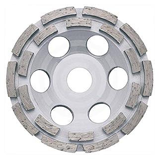 ADT Diamant-Schleiftopf universal 125 mm Premium Diamantschleiftopf mit 22,2 mm Bohrung für Winkelschleifer Diamant-Schleifteller doppelt belegt Beton