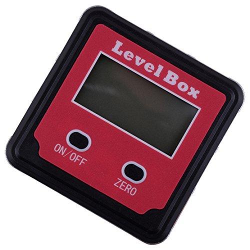 Preisvergleich Produktbild beler Magnetische LCD Digital Wasserwaage Winkelmesser Neigungsmesser Winkelsucher Messuhr Messgerät Meter Bevel Box