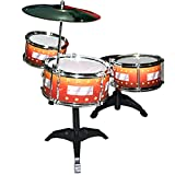#8: 7 pcs Drum Set Musical Band Instrument Playset Gift Kids Toys Toy Gift -83