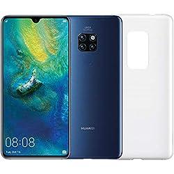 """Huawei Mate 20 (Blu) più Cover Originale, Telefono con 128 GB, Display 6.53"""" Full HD+, Processore Octa Core dinamico con Intelligenza Artificiale"""