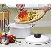 Forno a microonde pentola a pressione vapore sano verdure pasta riso pentola