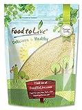 Food to Live Blanchierte Mandelmehl / Mehl (Koscher) (0,5 Pfund)