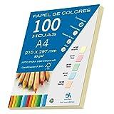 Dohe 30193 Ramette de 100feuilles de papier Jaune pastel A4 80g