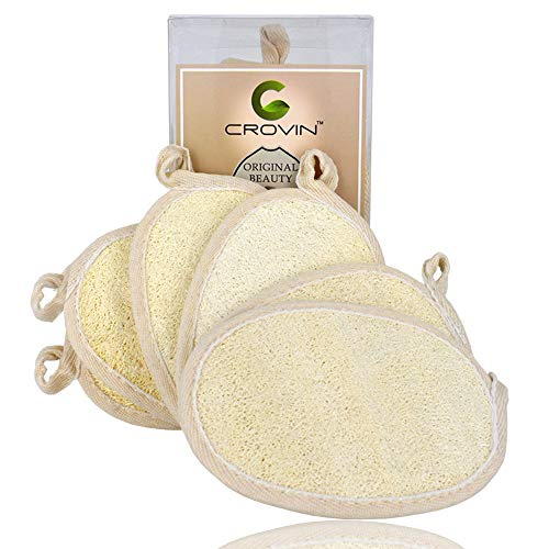 Natural Full Body Bath Scrubber For Exfoliating Shower Loofah Pad Lava Stone Bath Brush To Produce An Effect Toward Clear Vision Loofah Sponge And Pumice Stone Set Bath Brushes, Sponges & Scrubbers