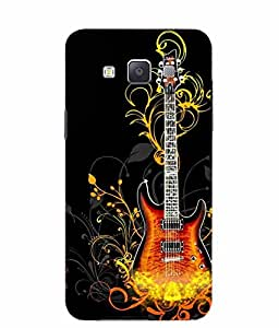 Snazzy Printed Back Cover for Samsung Galaxy A5