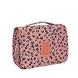Amoyie 2- teilig Kulturbeutel Kulturtaschen-Set, 1 Taschen aufhängen und 1 Zahnbürstenhalter,...