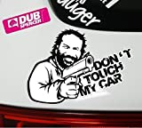 DUB SPENCER - Dont Touch My Car Aufkleber Decal - Sticker Bombing Look - Tuning - Dub