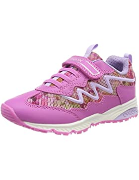 Geox J Bernie a, Zapatillas para Niñas