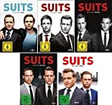 Suits - Season 1-5 im Set - Deutsche Originalware [19 DVDs]