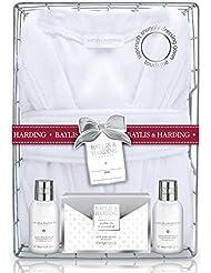 Baylis & Harding Cadeau Soins pour Corps/Robe de Chambre Jojoba Soie/Lait d'Amande Douce