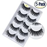 Faux 3D Mink Eyelashes Dramatic Makeup Thick Long Multilayer Fluffy Hand-made False Eyelashes