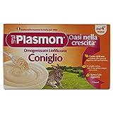 Plasmon Liofilizzati Coniglio - 3 vasetti da 10 gr - Totale: 30 gr