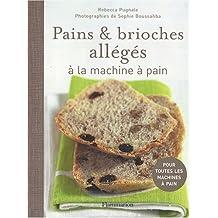 Pains et brioches allégés à la machine à pain