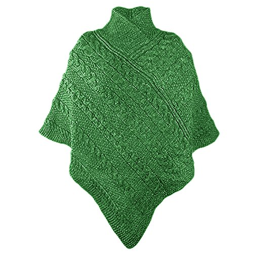 Westend Knitwear - Poncho -  donna Green