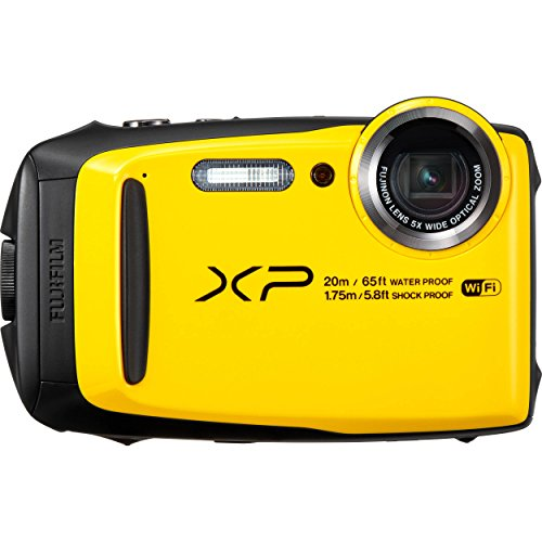 Fujifilm 16544046 Appareil Photo XP120 16,3 Mpix Jaune