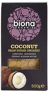 Biona Coconut Unrefined Palm Sugar, 500 g