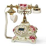 Ohne Anrufbeantworter Stiefmütterchen-Telefon/europäisches Telefon/Mode Retro kontinentales örtlich festgelegtes Kontinentalfunktelefon/Tischplattenverzierungen Retro Telefon