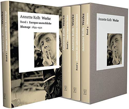 Werke (Bibliothek der Wüstenrot Stiftung. Autorinnen des 20. Jahrhunderts)