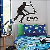 Sshssh Wohnkultur Stikers Für Wanddekoration Kinder Wandaufkleber Diy Extra Roller Stunt Benutzerdefinierte Wandtattoos Vinyl Aufkleber 83 * 90 Cm