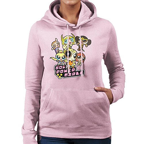 eighties-power-girls-powerpuff-womens-hooded-sweatshirt