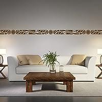 Hervorragend Malango® Afrikanische Bordüre Wandtattoo Aufkleber Wandaufkleber Dekoration  Schlafzimmer Wohnzimmer Styling Design 18 X 131 Cm