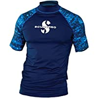 Scubapro AEGEAN Rash Guard Kurzarm Herren Slim Fit UV-Shirt Collection 2017