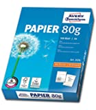 Avery Zweckform 2574 Drucker-/ Kopierpapier (DIN A4, 80 g/m², 500 Blatt, alle Drucker) weiß