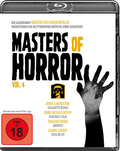 Masters of Horror Vol. 4 (Carpenter/McNaughton/Miike/Cohen) [Blu-ray]
