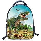 AnKoee Schultaschen für Kinder 3D Druck Dinosaurier Rucksack Persönlichkeit Junge Rucksack Persönlichkeit Kindergarten Grundschule Rucksack (Style-01)